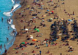 Playa de la Malagueta, Málaga. (FOTO: NACHO ALCALÁ)