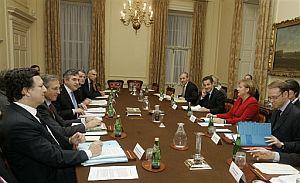 Las turbulencias económicas han unido a los líderes europeos. (Foto: AP)