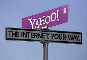 Señal de Yahoo en el Consumer Electronics Show (CES) de Las Vegas. (Foto: AP)