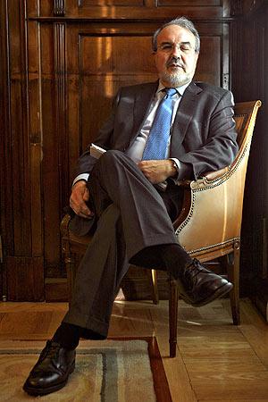 Pedro Solbes. (Foto: Antonio Heredia)
