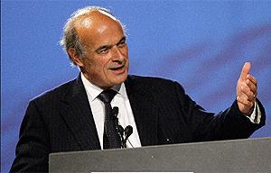 Pierre Gadonneix, presidente de EDF. (Foto: AFP)