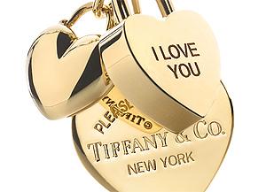 Piezas de la colección de Tiffany para el día de San Valentín. (Foto: Tiffany&Co)