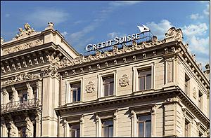Sede del banco suizo Credit Suisse en Zurich. (Foto: Credit Suisse)