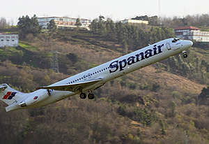 La venta de Spanair se concretará en el segundo trimestre. (Foto: Carlos García)