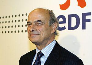 Pierre Gadonneix, presidente de EDF en la rueda de prensa de presentación de resultados de 2007. (Foto: EFE)