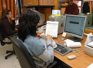 Mujer trabajadora. (Foto: Montse Álvarez)