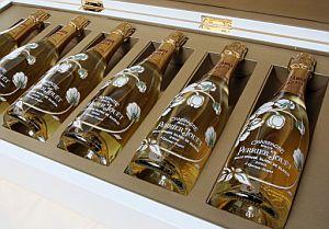 Cada botella de este champán cuesta 4.166 euros. (Foto: AFP)