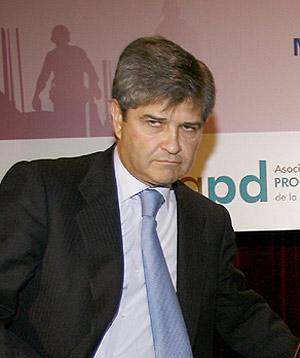 Fernando Martín, presidente de Fadesa. BEGOÑA RIVAS