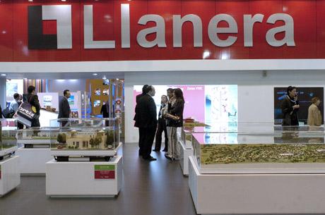 Un stand de Llanera en el salón de Madrid. La compañía valenciana fue la primera en acogerse al concurso voluntario. (Foto: Carlos Miralles)