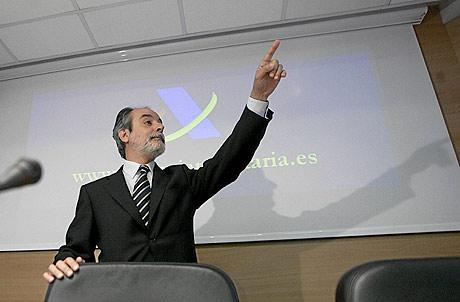 Luis Pedroche, director de la AEAT. (FOTO: CARLOS BARAJAS)