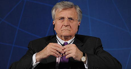 El presidente del BCE, Jean Claude Trichet. (Foto: Giuseppe Cacace)