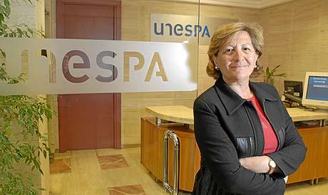 Pilar González de Frutos, presidenta de Unespa. (FOTO: BERNARDO DÍAZ)