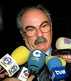 Imágen de archivo del secretario general de Fenadismer, Juan Antonio Millán. (FOTO: EFE)
