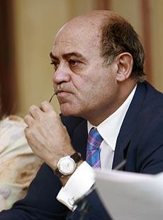 El presidente de la CEOE, Gerardo Díaz Ferrán. (Foto: EL MUNDO)
