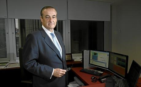 Carlos Vela, ex consejero delegado de Martinsa Fadesa y ex responsable de créditos a empresas en Caja Madrid. (Foto: Begoña Rivas)