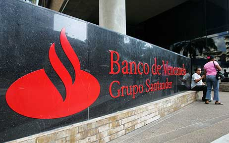 La última nacionalización de Chávez, el Banco de Venezuela. (Foto: REUTERS)