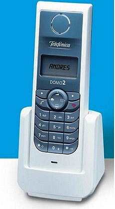 Un teléfono Domo de la compañía, que permite la identificación de llamadas. (Foto: Telefónica)