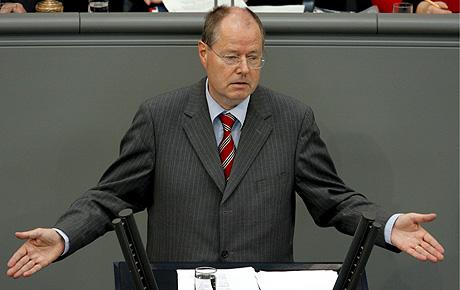 El ministro de Finanzas alemás, Peter Steinbrück. (Foto: EFE)
