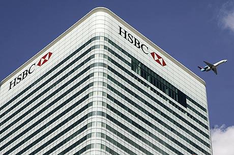 La sede central de HSBC en Londres (FOTO:AP)