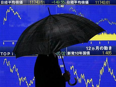 Llueve sobre mojado en las Bolsas. (Foto: AP)