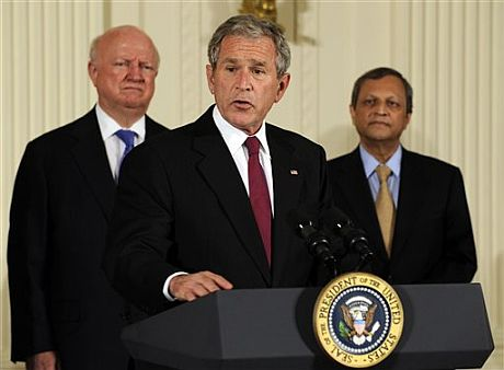 El presidente de EEUU, George W. Bush. (Foto: AP)