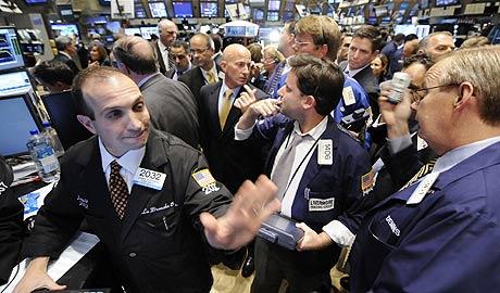La Bolsa de Nueva York se derrumbó en el tramo final de la sesión. (Foto: AP)