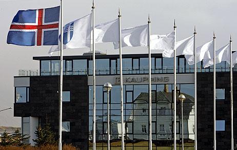 Sede en Reykjavik del banco Kaupthing. (Foto: REUTERS)