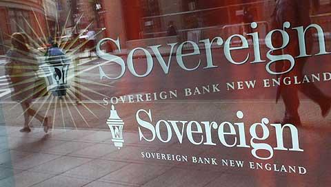 Instalaciones del banco Sovereign en Boston. (Foto: AP)