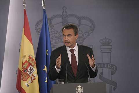 El presidente del Gobierno, José Luis Rodríguez Zapatero. (Foto: Javi Martínez)