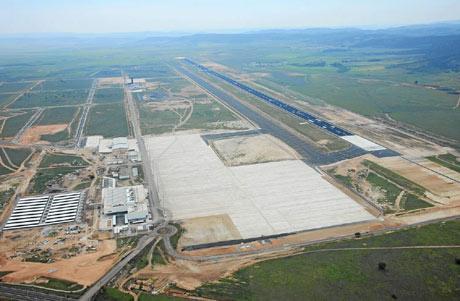 Vista del aeropuerto de Ciudad Real. (Foto: EL MUNDO)