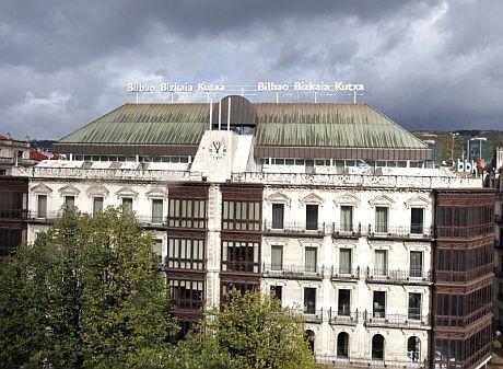 Sede social de la BBK en Bilbao. (Foto: EFE)