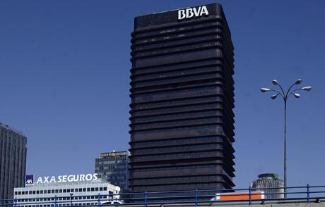Sede del BBVA en el Paseo de La Castellana, Madrid. (Foto: Antonio Heredia)
