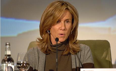 La ministra Garmendia durante su intervención en el foro. (Foto: Kike Para)