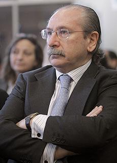 El presidente de Sacyr, Luis del Rivero. (Foto: EFE)