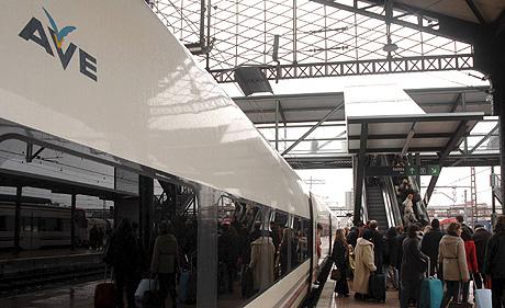 Estación del Ave de Valladolid. (Foto: EFE)