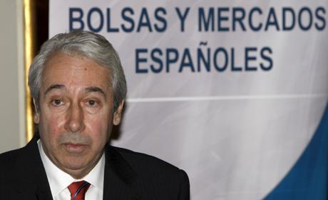 El presidente de Bolsas y Mercados Españoles, Antonio Zoido. (FOTO: EFE)