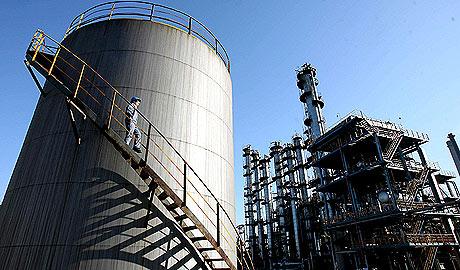 Una refinería de petróleo. (Foto: EFE)