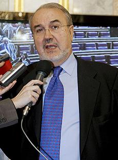 El ministro de Economía, Pedro Solbes. (Foto: EFE)