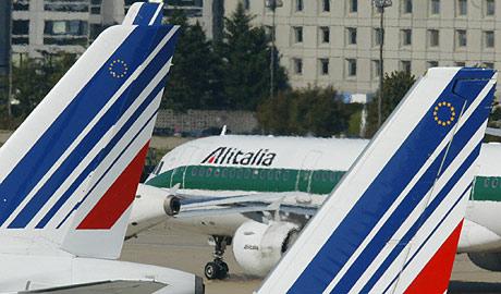 Air France tendrá tres asientos en el consejo de Administración de Alitalia. (Foto: AFP)