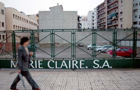 Planta de Marie Claire en Castellón. (Foto: David Chumillas, EL MUNDO)