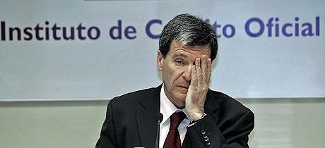 El presidente del ICO, Aurelio Martínez. (Foto: Diego Sinova)
