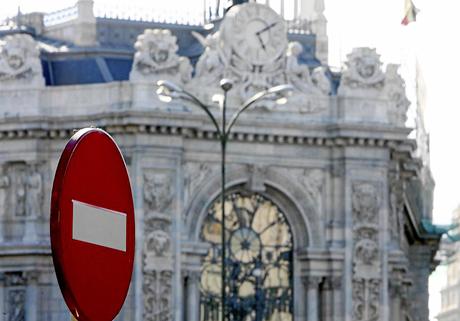 La economía española entró en recesión en el cuatro trimestre.|EL MUNDO