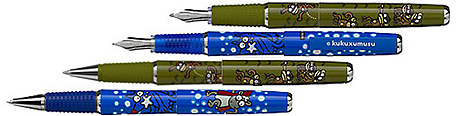 Inoxcrom fabrica los bolígrafos de kukusumuxu, entre otros.|Kukusumuxu