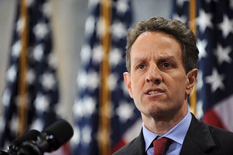 El secretario del Tesoro, Timothy Geithner. | EFE