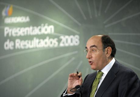 Ignacio Sánchez Galán, presidente de Iberdrola.|AFP