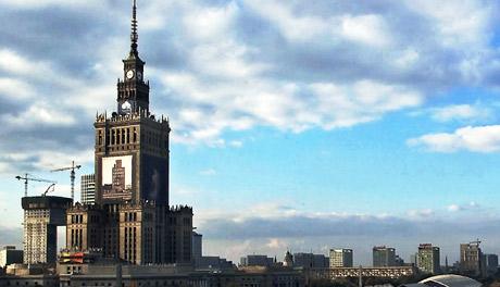 Vista del centro de Varsovia. | EL MUNDO