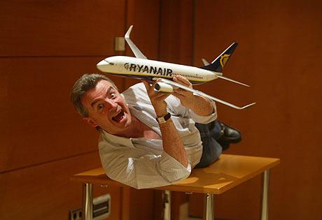 El presidente de Ryanair, Michael O'Leary. (FOTO: Quique García)