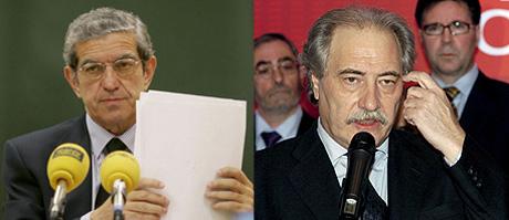 Braulio Medel (i) y Juan Pedro Hernández Moltó. | Efe