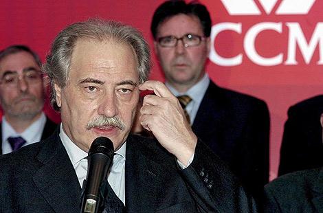 Juan Pedro Hernández Moltó, presidente de CCM. | Efe