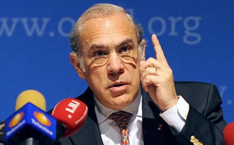 El Secretario General de la OCDE, Ángel Gurría.   AFP